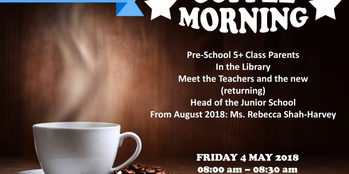 Junior School Coffee Morning