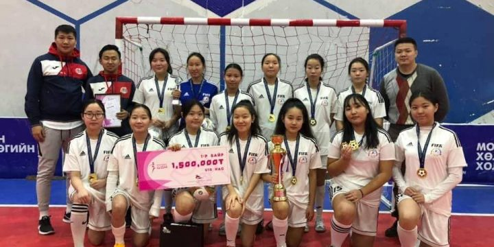 Girls U15 and won the FIRST PLACE!