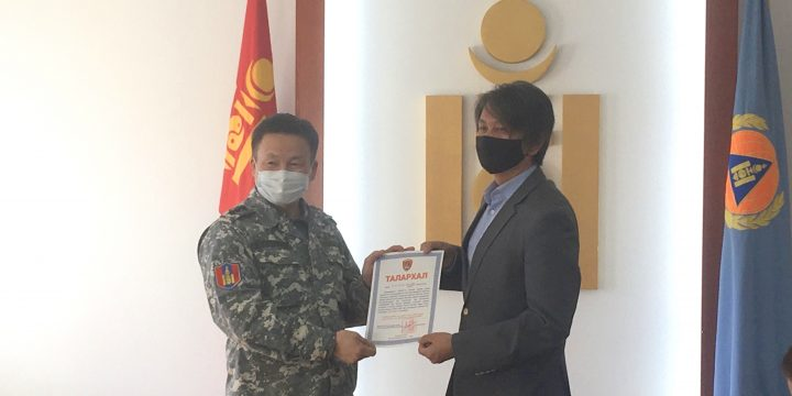 Donation of 16 million MNT to fight against COVID-19